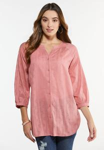 Plus Size Antique Rose Tunic