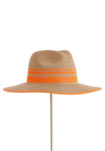 Vibrant Stripe Panama Hat