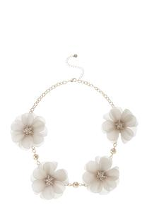 Daisy Chain Link Necklace