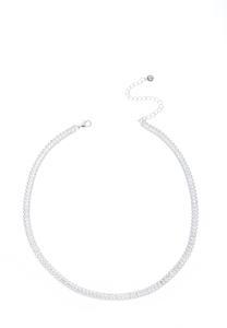 Baguette Stone Choker Necklace