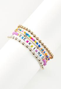 Be Kind Ankle Bracelet Set