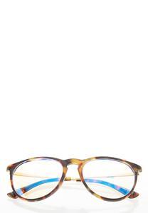 Round Tortoise Blue Light Glasses