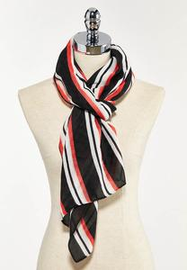 Statement Stripe Oblong Scarf
