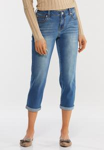 Curvy Cropped Skinny Jeans