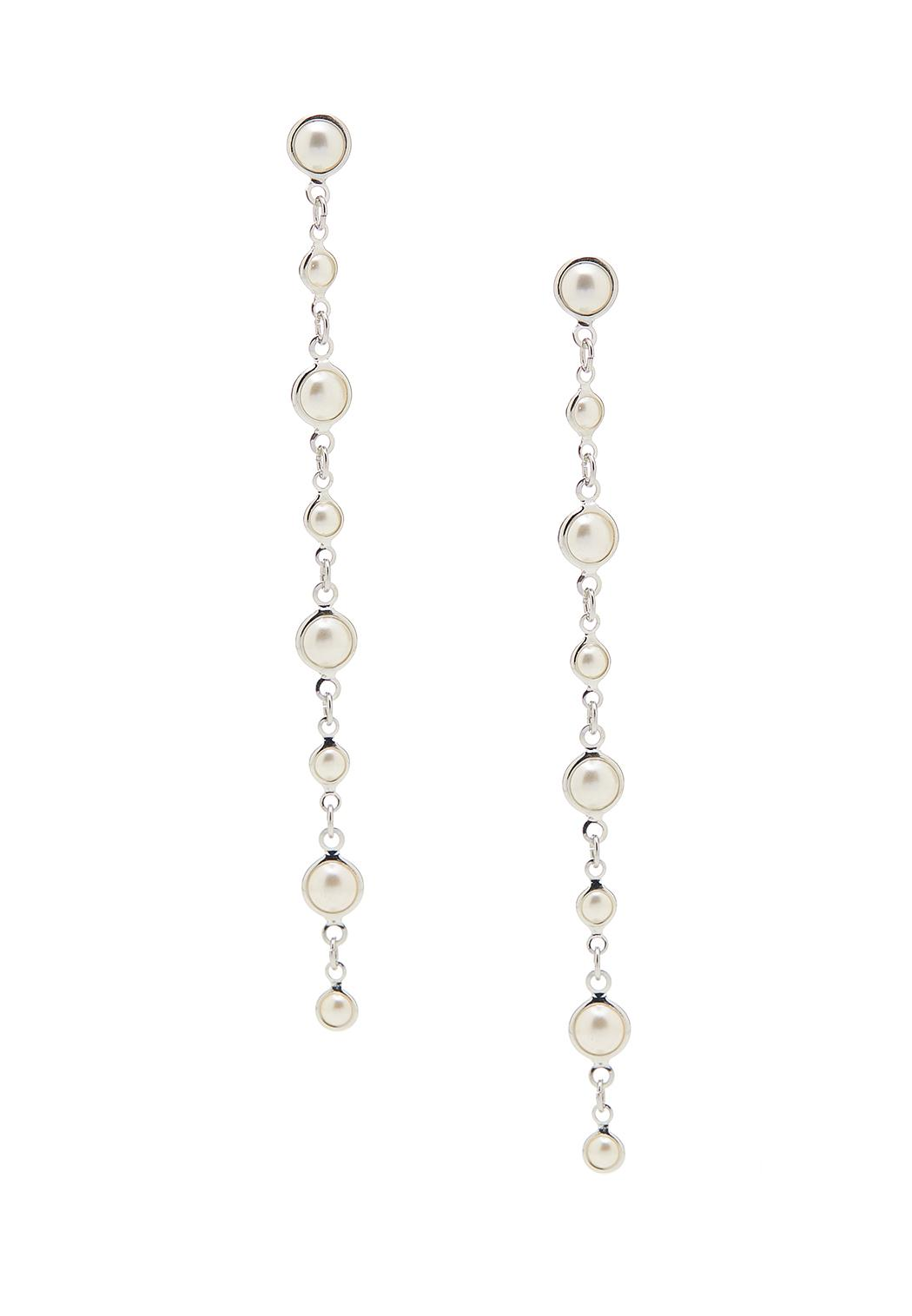 Graduated Pearl Earrings