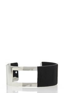 Threaded Cutout Cuff Bracelet