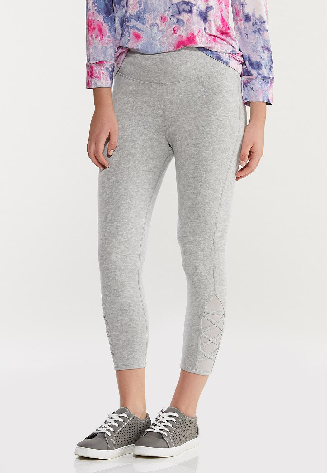 Cropped Criss Cross Leggings