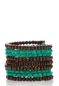 Wood Coil Bracelet