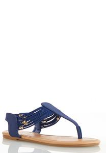 Stretch Band Thong Sandals