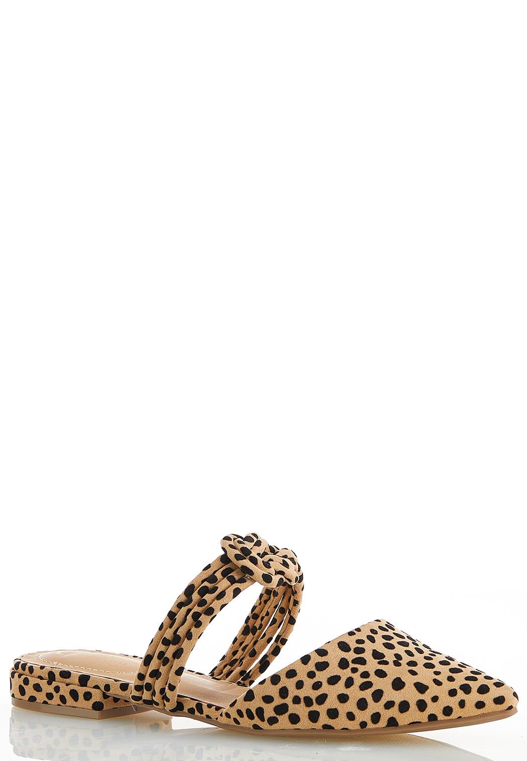 Cheetah Suede Mules