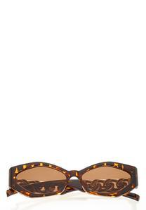 Chain Link Tortoise Sunglasses