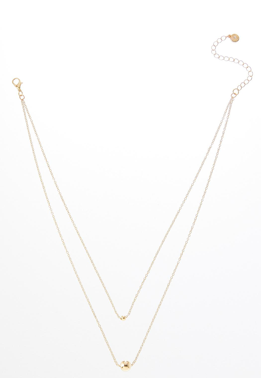 Layered Delicate Charm Necklace
