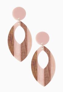 Cutout Tear Earrings