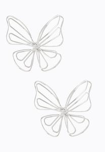 3-D Butterfly Earrings