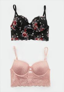 Pretty Lace Bra Set