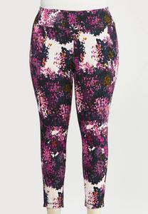 Plus Size Shaded Bloom Leggings