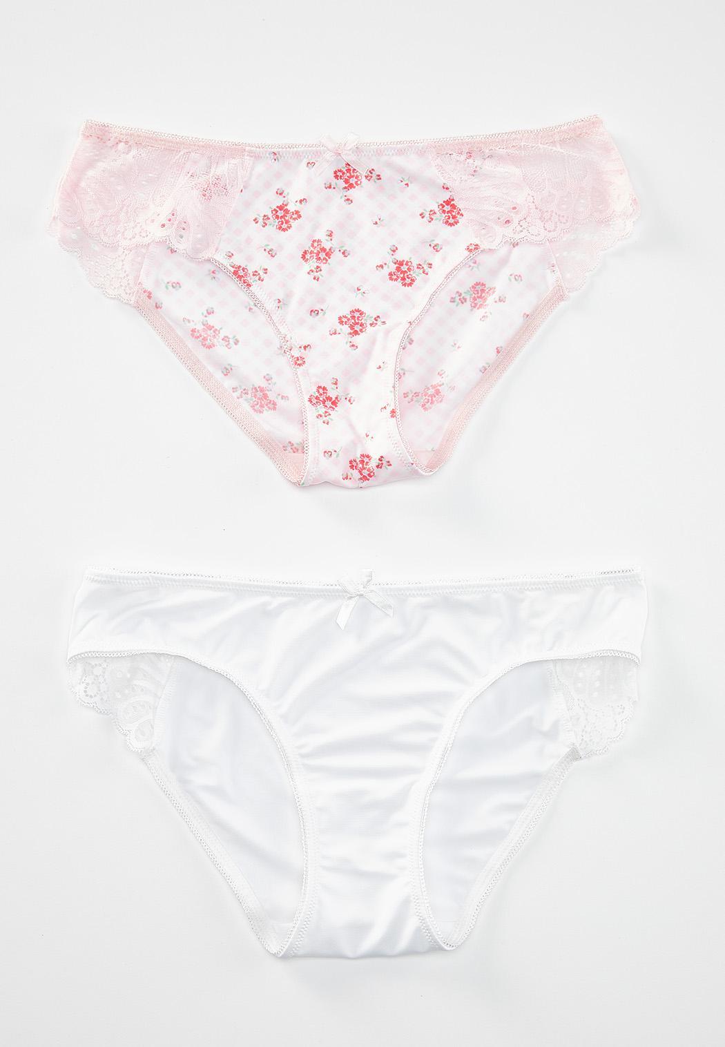 Plus Size Chloe Bikini Panty Set