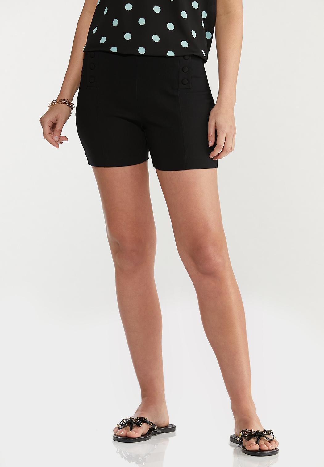 Solid Bengaline Shorts