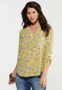 Gold Daisy Top