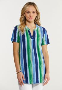 Plus Size Sea Breeze Top