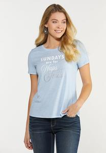 Plus Size Sunday Tee