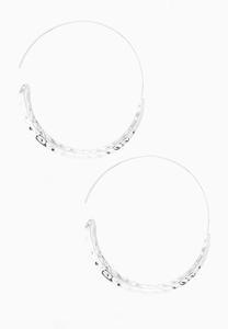 Mod Hoop Earrings