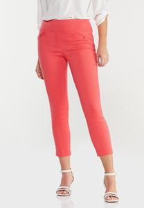 Spice Coral Bengaline Pants