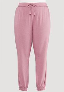 Plus Size Vintage Rose Joggers