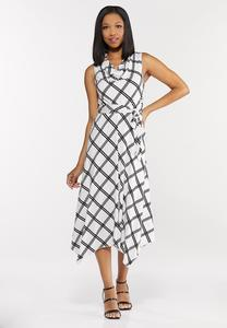 Modern Geo Hanky Dress