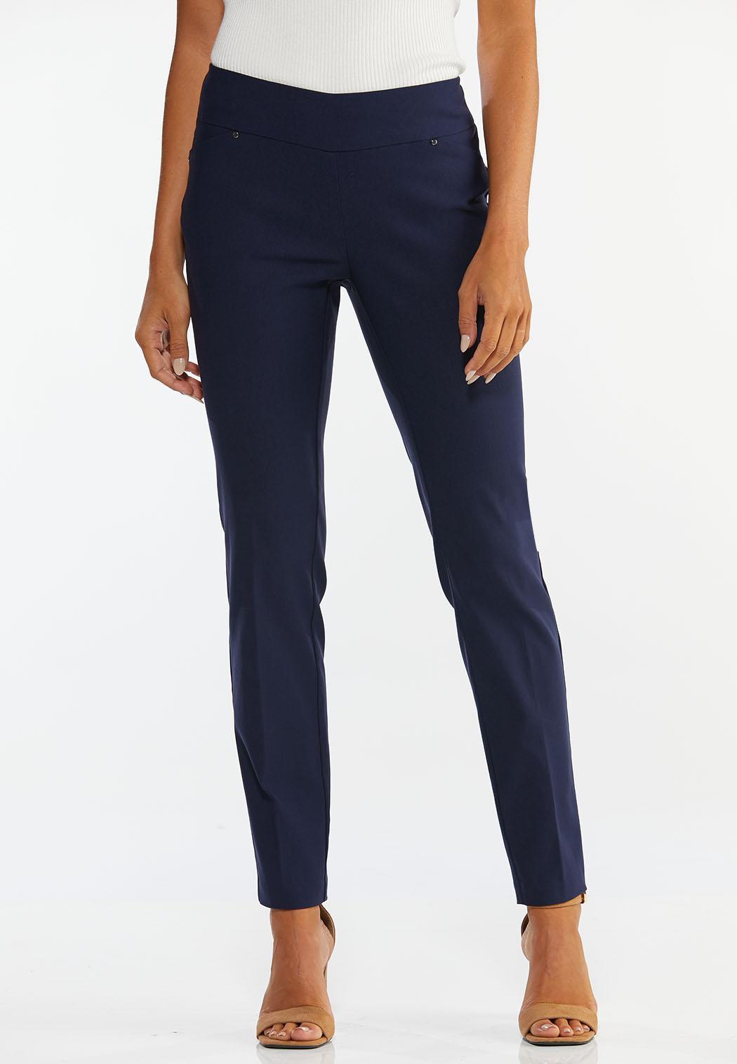 Petite Slim Leg Bengaline Pants