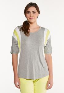 Plus Size Bow Back Tee