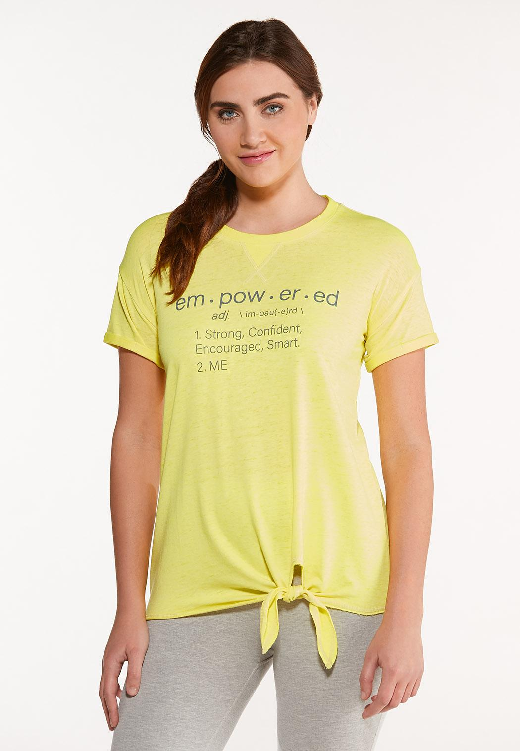 Empowered Knotted Tee