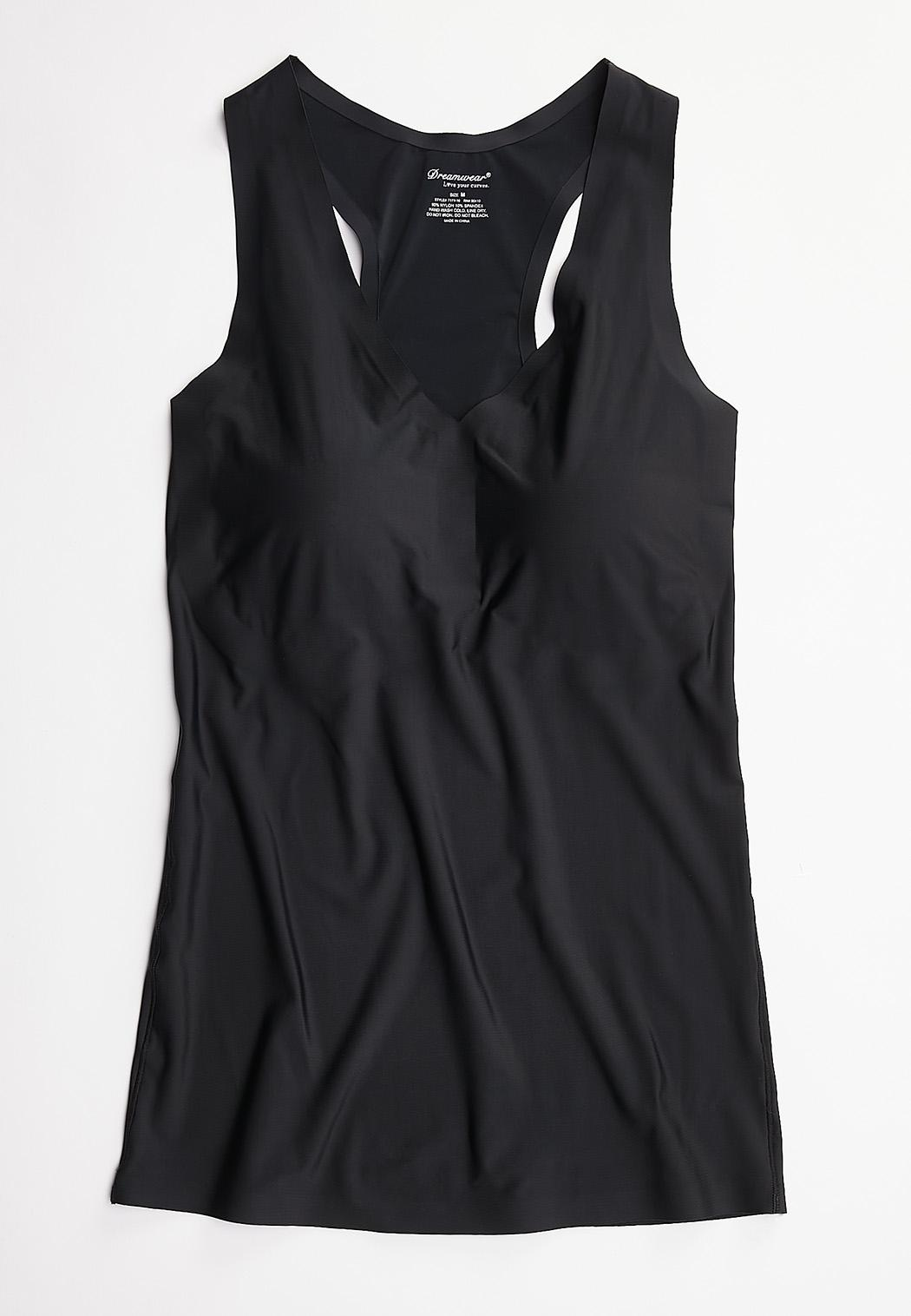 Black Smoothing Shapewear Tank
