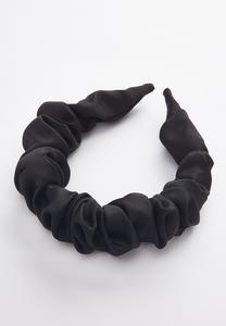 Black Scrunch Headband