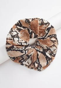 Oversized Snake Scrunchie