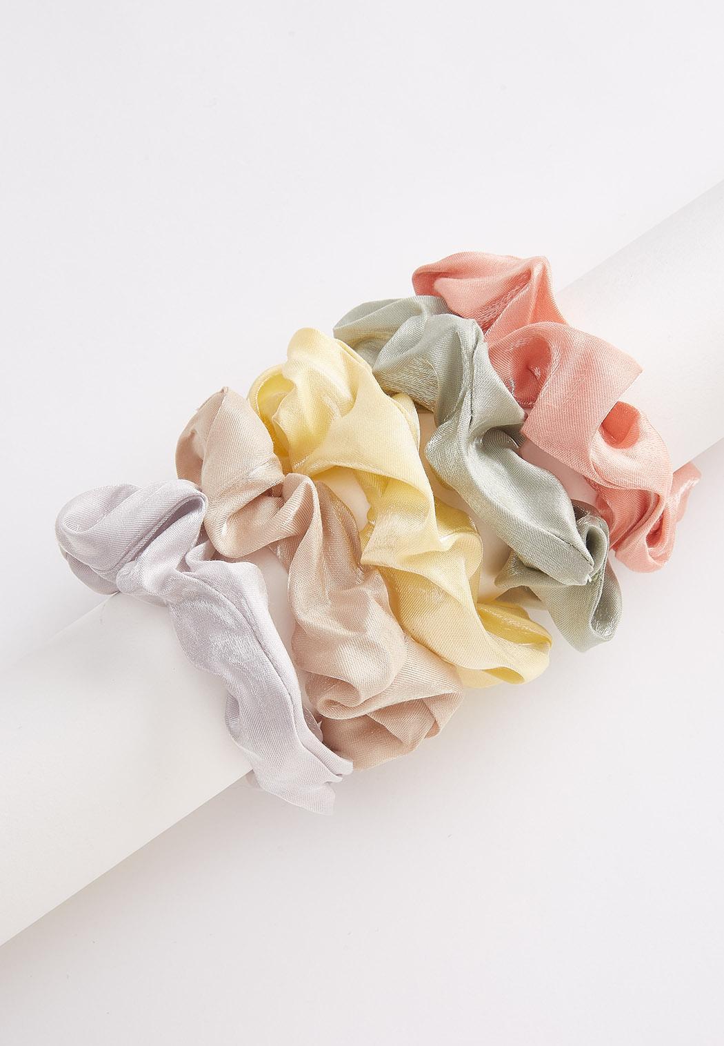 Pastel Scrunchie Set