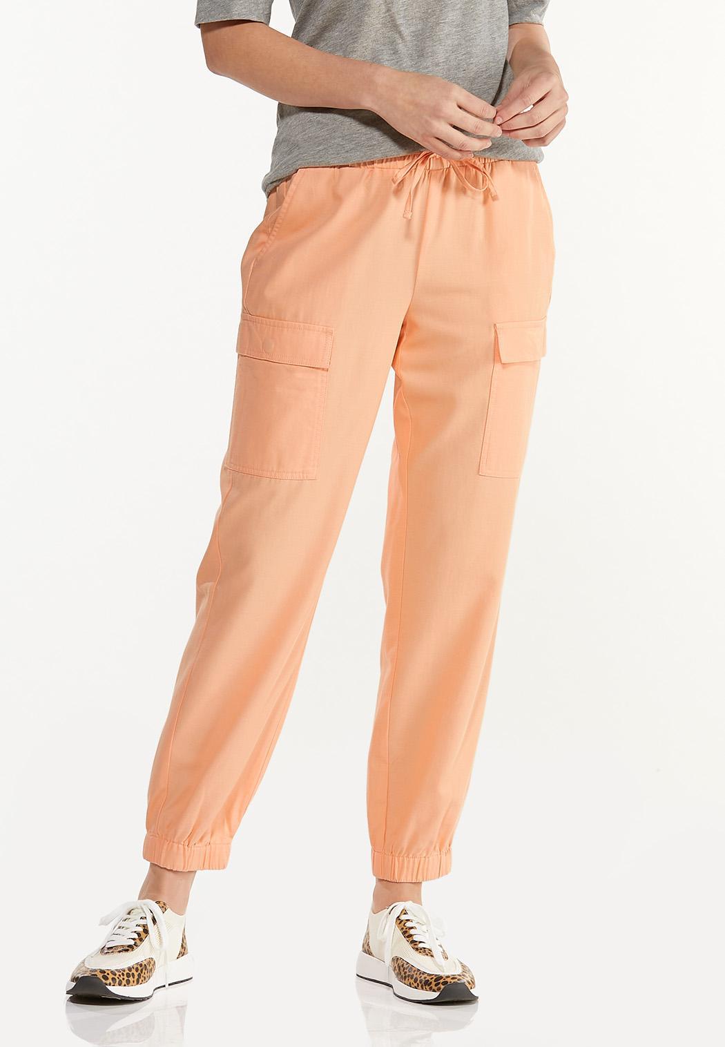 Sweet Tangerine Utility Joggers