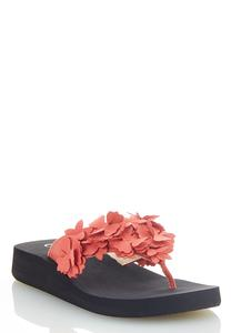 Flower Bloom Flip Flops