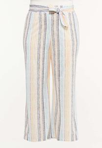 Plus Petite Multi Stripe Pants