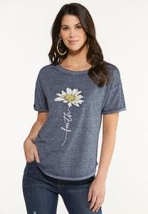 Faith Daisy Tee