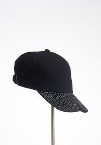Black Bling Baseball Hat