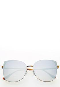 Geo Rimless Sunglasses