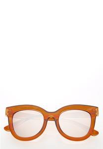 Tortoise Mirrored Sunglasses