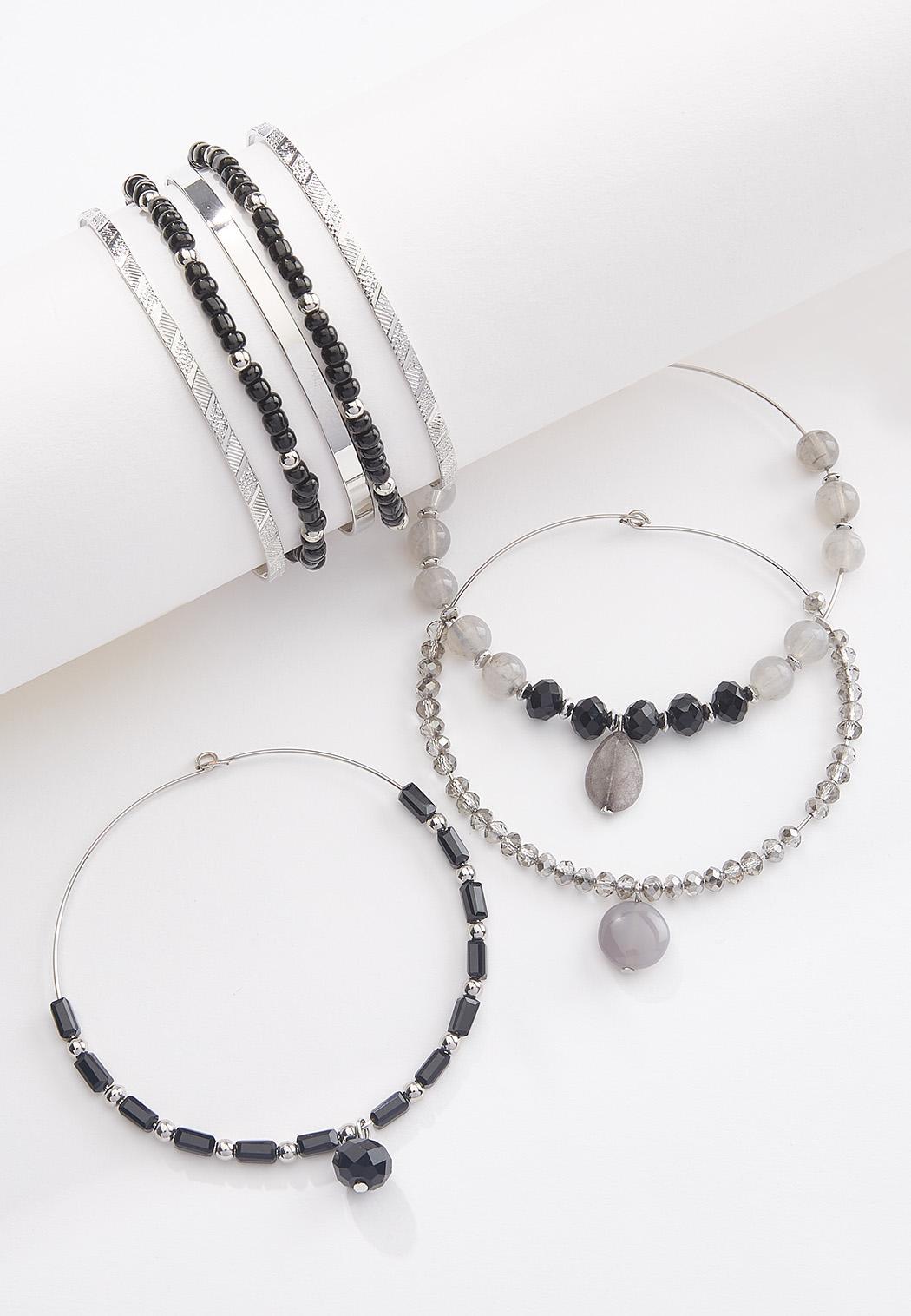 Metal Wire Bracelet Set