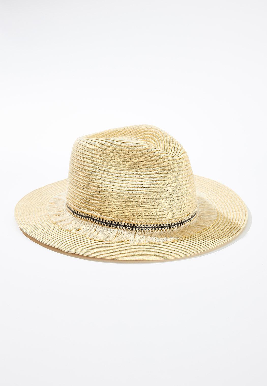 Fringe Band Panama Hat