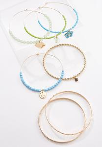 XL Shaky Charm Bangle Set