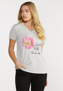 Plus Size A Little More Kindness Tee