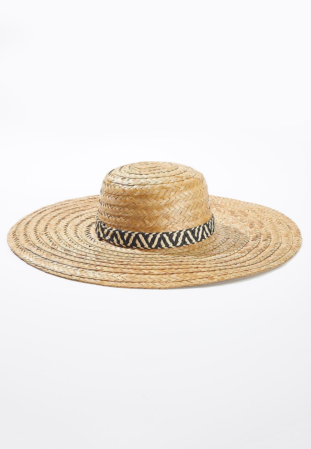 Animal Band Straw Hat