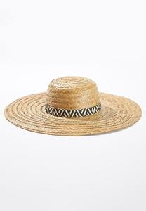 Animal Band Straw Hat