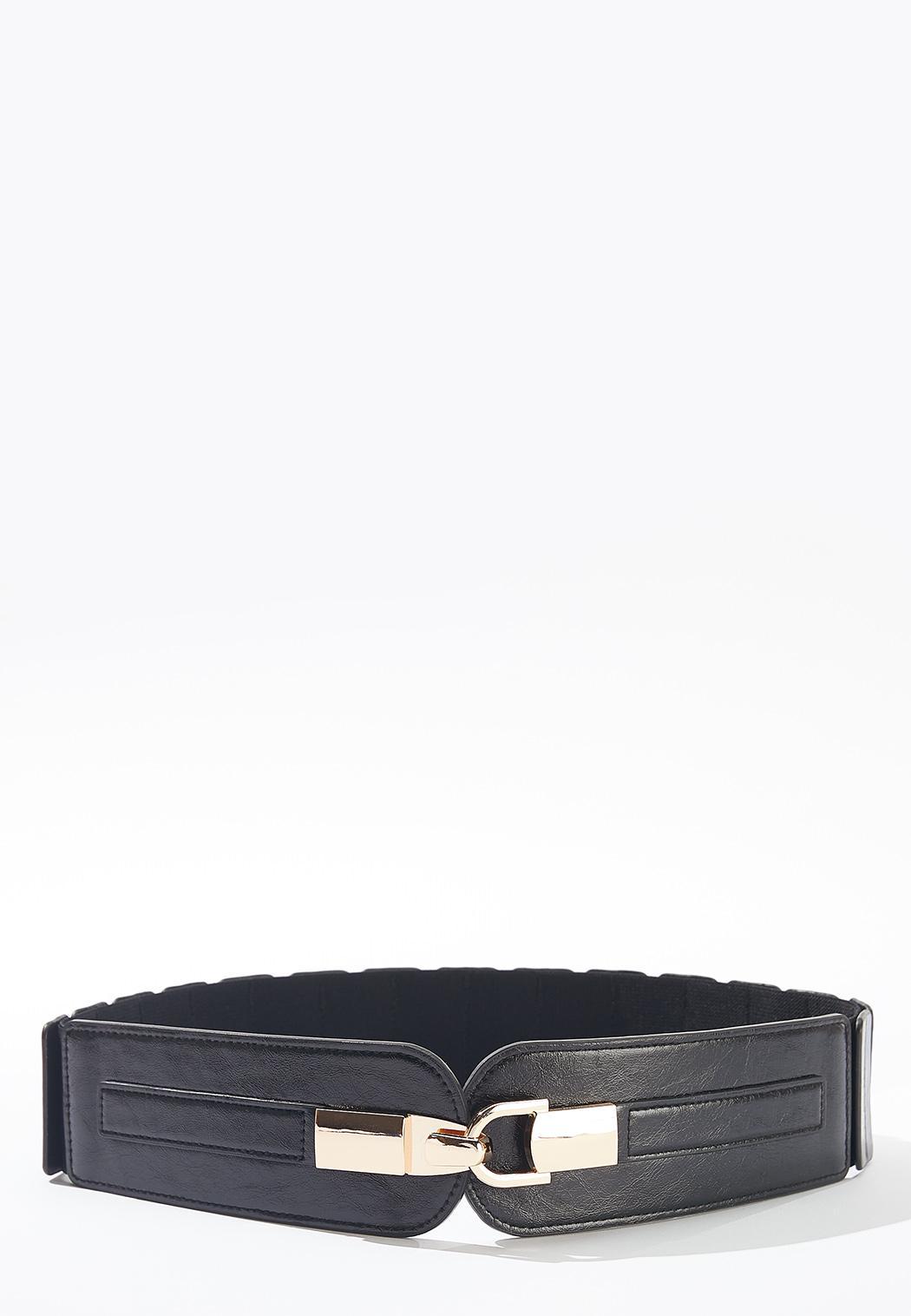 Plus Size Stretch Back Hook Belt